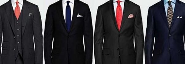 garnitury biznesmeni