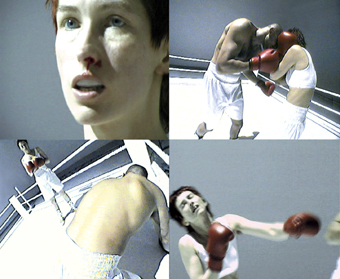 Zuzanna Janin, Walka (Fight), 2001-2005, video stills