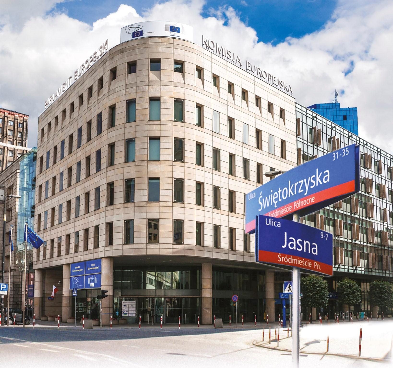 Biuro Informacyjne Parlamentu Europejskiego w Warszawie Jasna