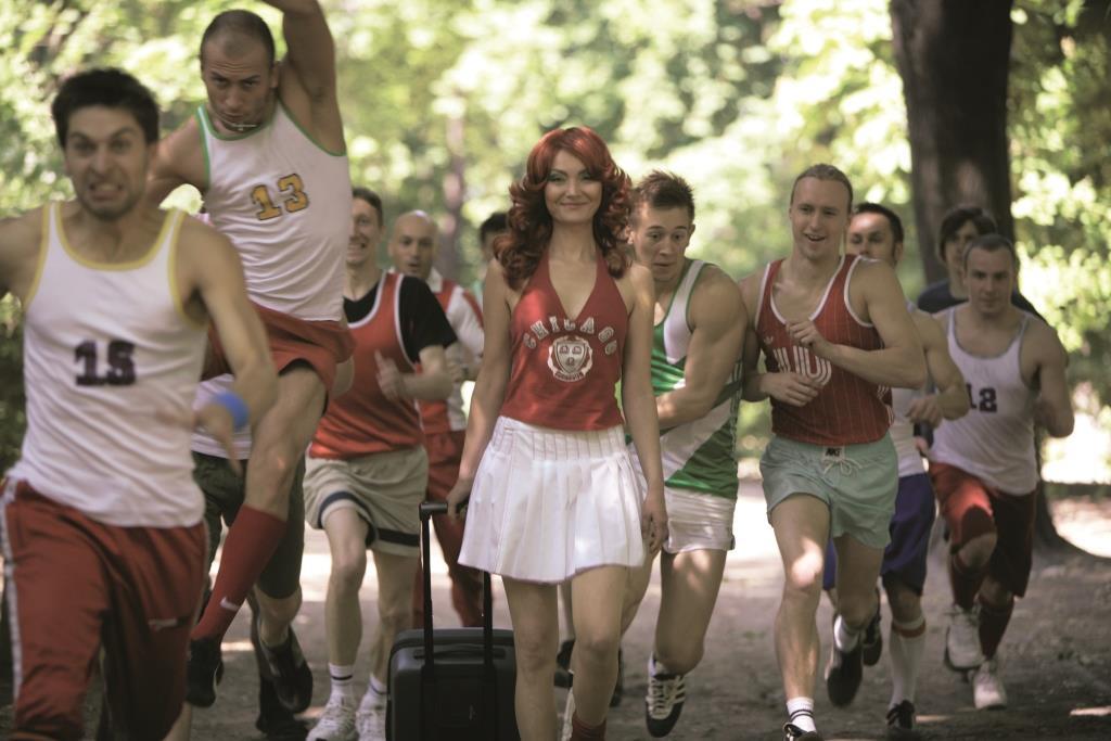 Katarzyna Kozyra, Cheerleaderka,