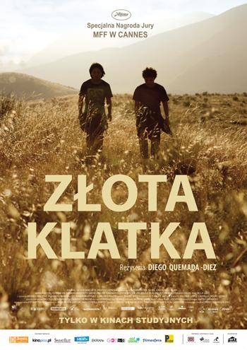 złota klatka_ plakat