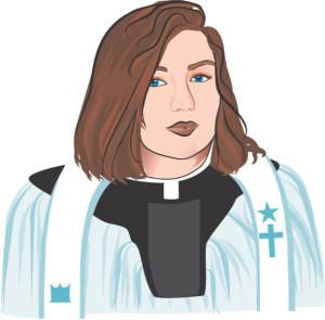 kobieta kościół