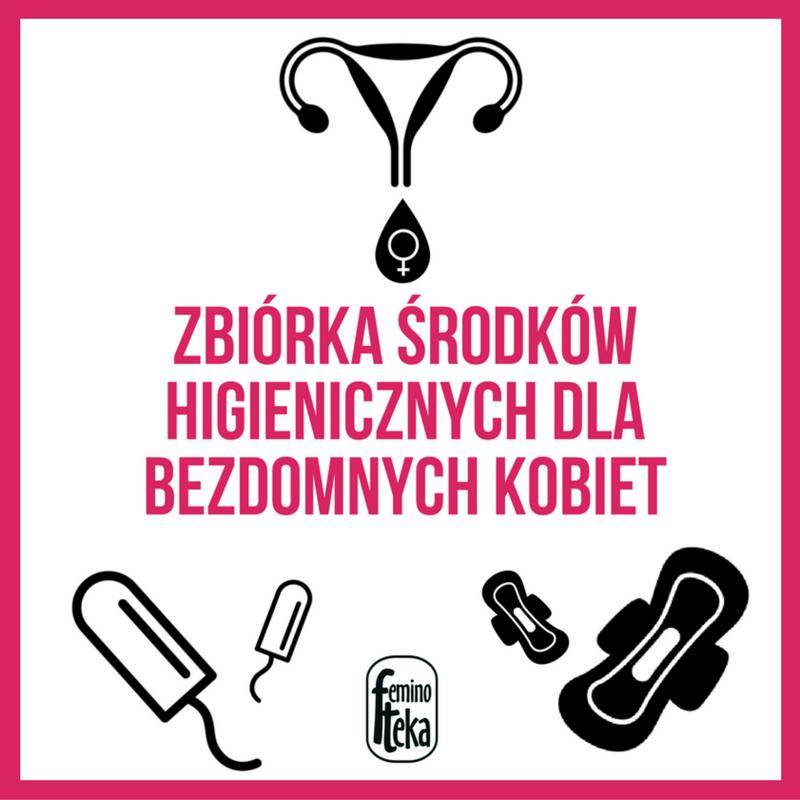 Zbiórka środków higienicznych dla bezdomnych kobiet (1)