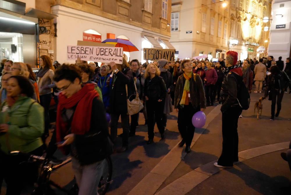 Marsz Lesbijek, fot. Monika Rak